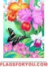 Swallowtail Orchids House Flag