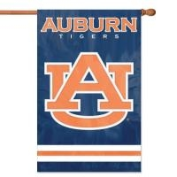 "Auburn Applique Flag 44"" x 28"""