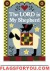 The Lord is My Shepherd House Flag - 1 left