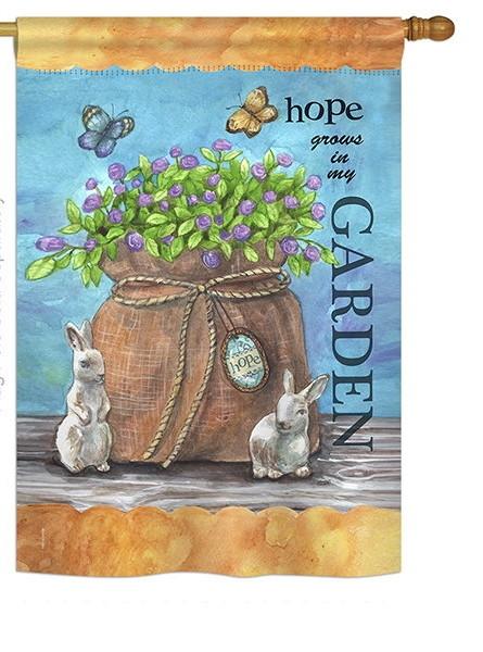 Hope Grows House Flag