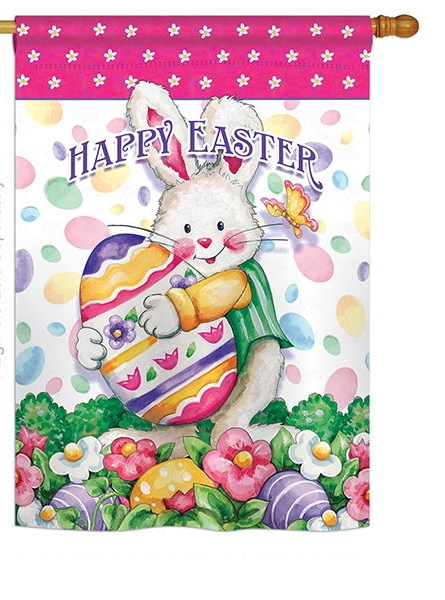Easter Treats House Flag