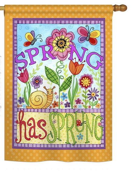 Bugs Spring House Flag