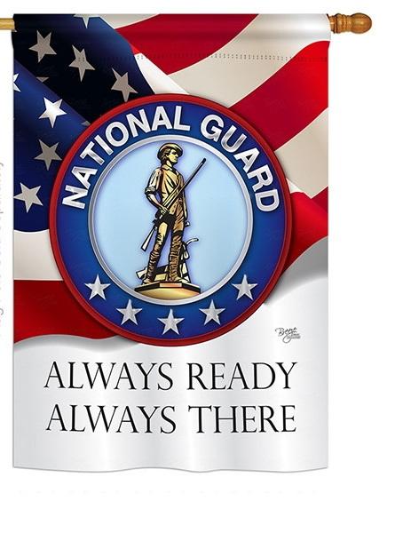 National Guard House Flag