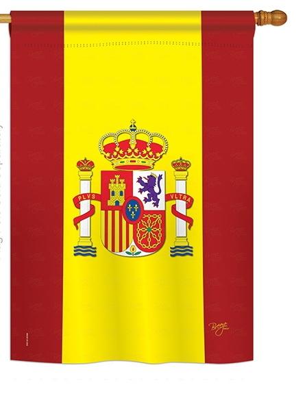 Spain House Flag