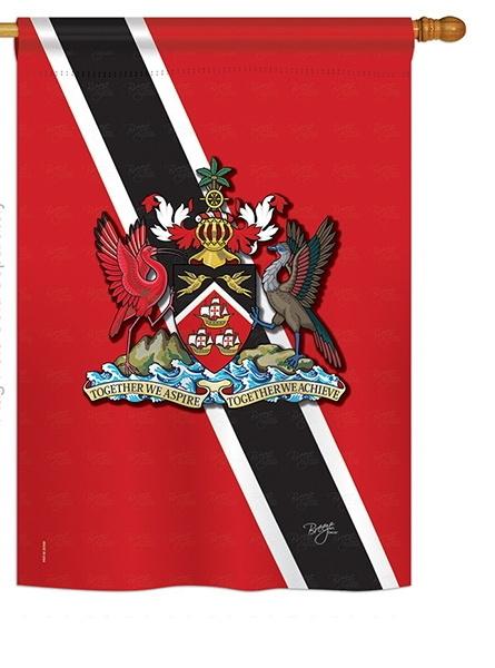 Trinidad And Tobago House Flag