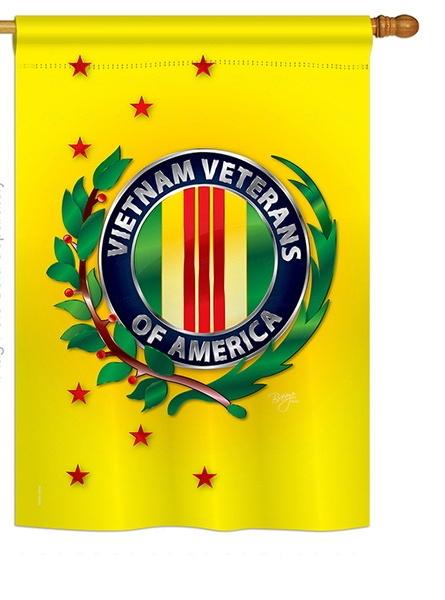 Vietnam Veteran House Flag