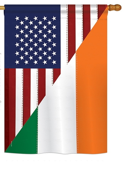 US Irish Friendship House Flag