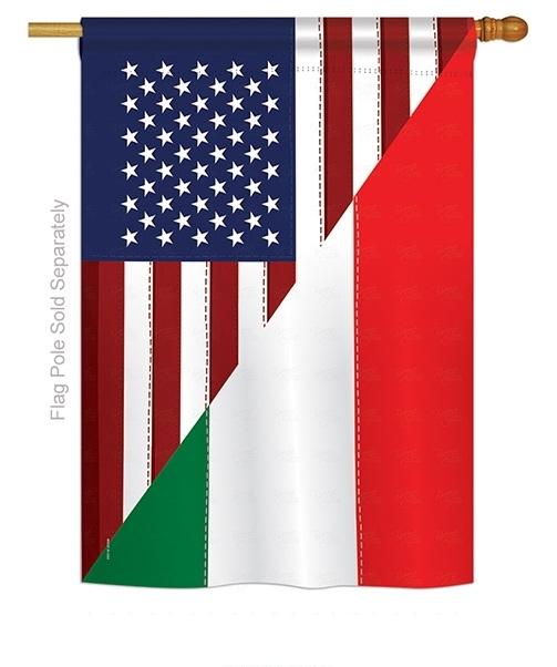 US Italian Friendship House Flag