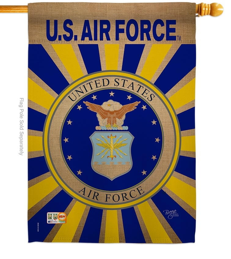 Air Force Decorative House Flag