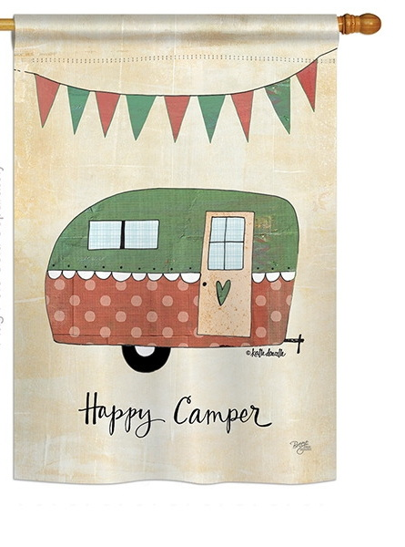 Camper House Flag