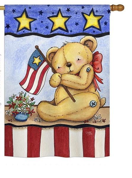 Pat Bear House Flag