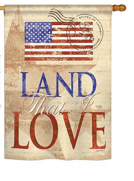 Land That I Love House Flag