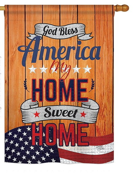 America My Home House Flag