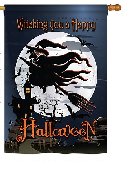 Happy Witching You House Flag