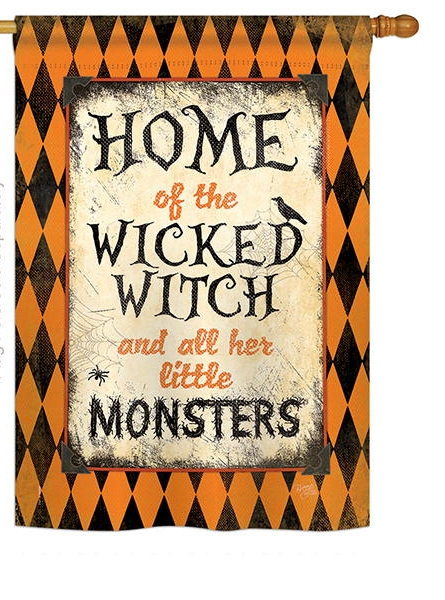 Wicked Home House Flag