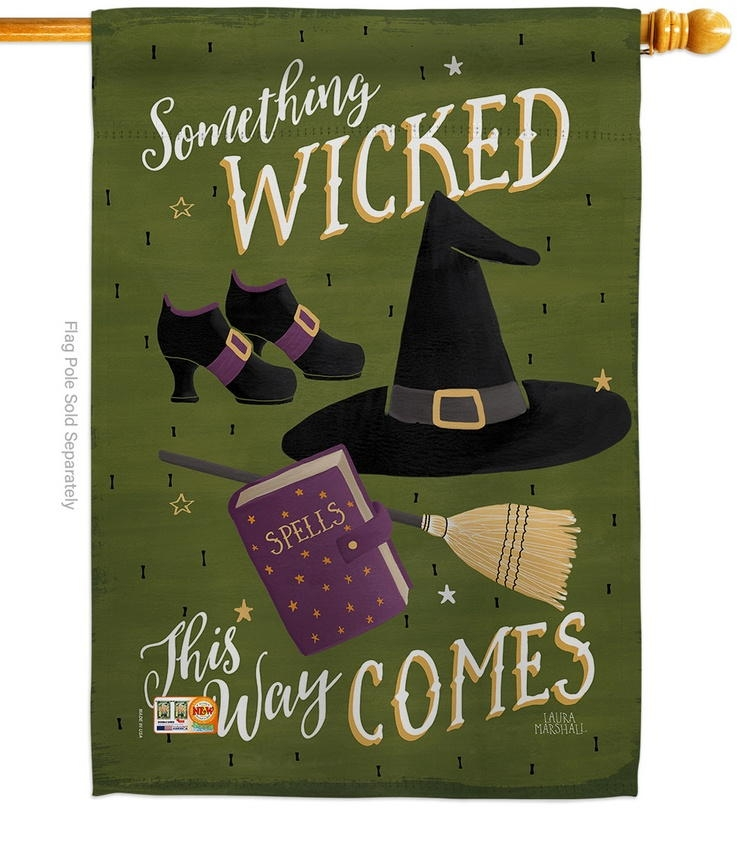 Something Wicked House Flag