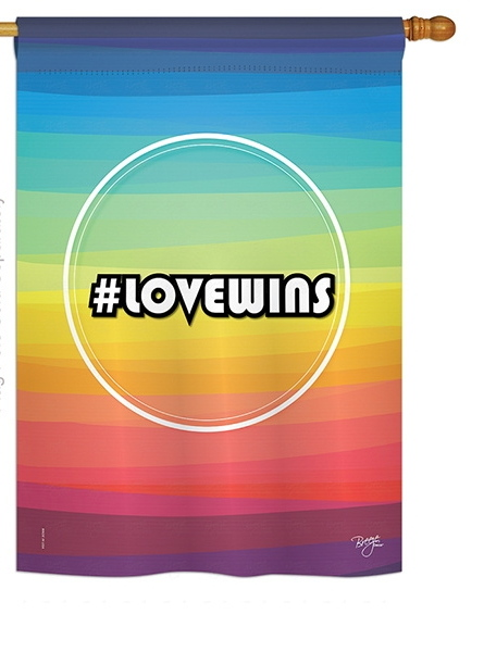 LoveWins House Flag
