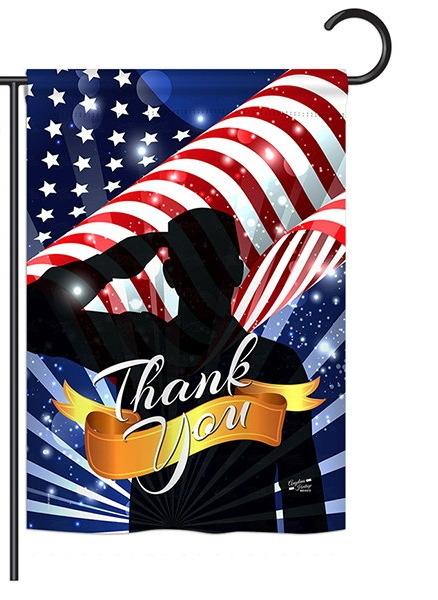 Thank You Garden Flag