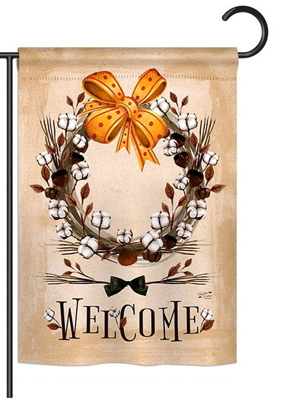 Welcome Southern With Grace Garden Flag