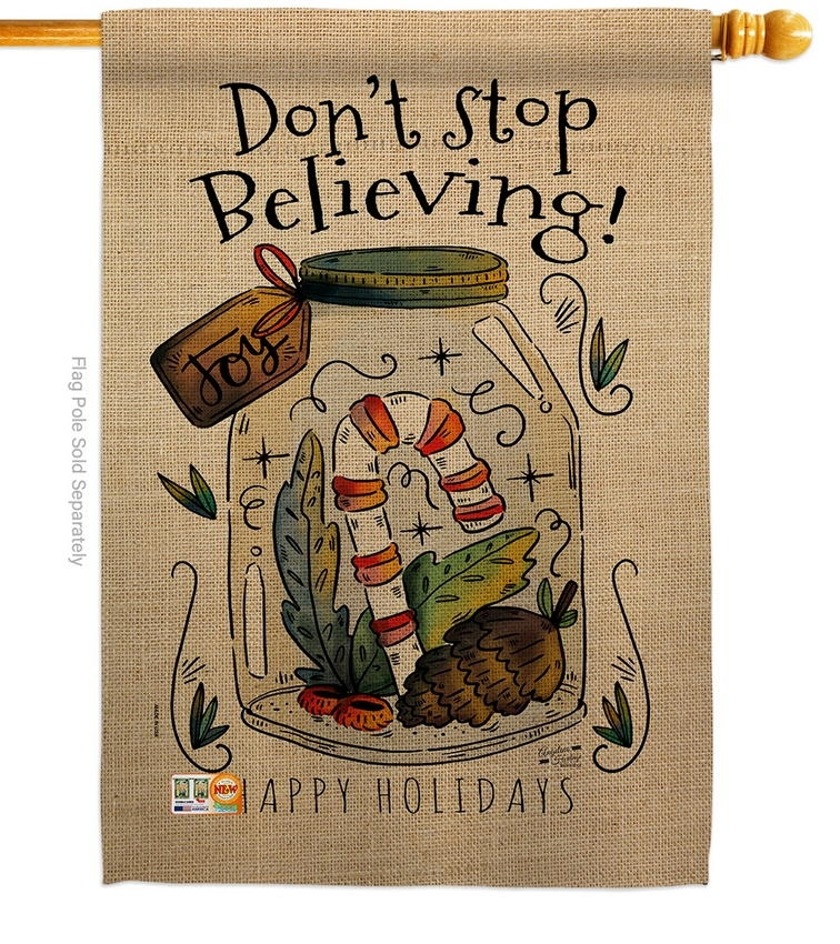 Don't Stop Believing House Flag