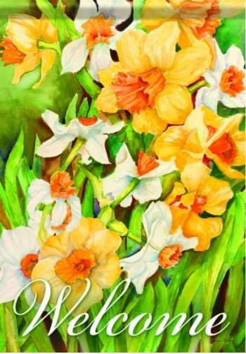 Spring Daffodils House Flag