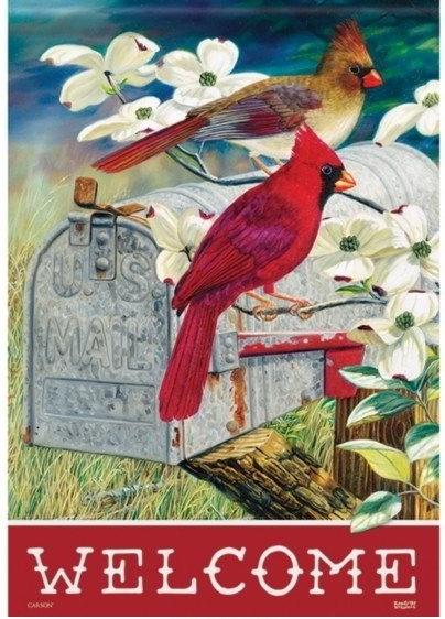 Red Bird Express Dura Soft House Flag