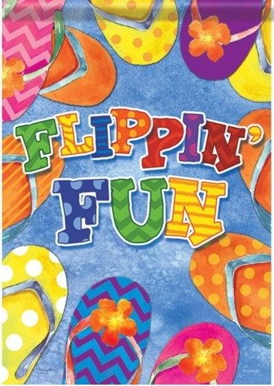 Flippin' Fun Dura Soft House Flag