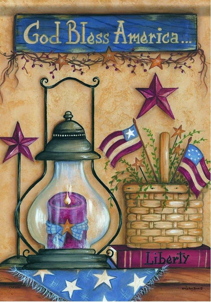 American Still Life Garden Flag