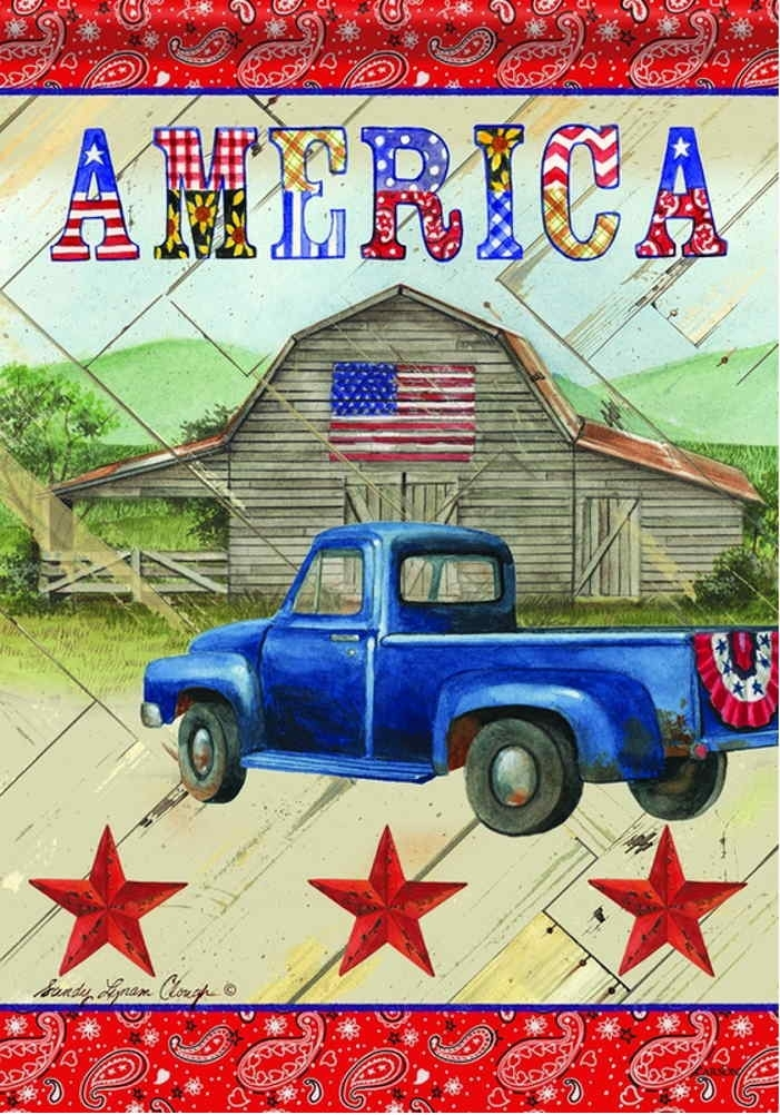 American Country House Flag