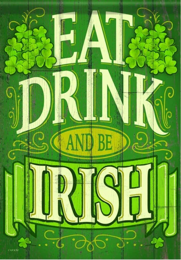 Be Irish House Flag