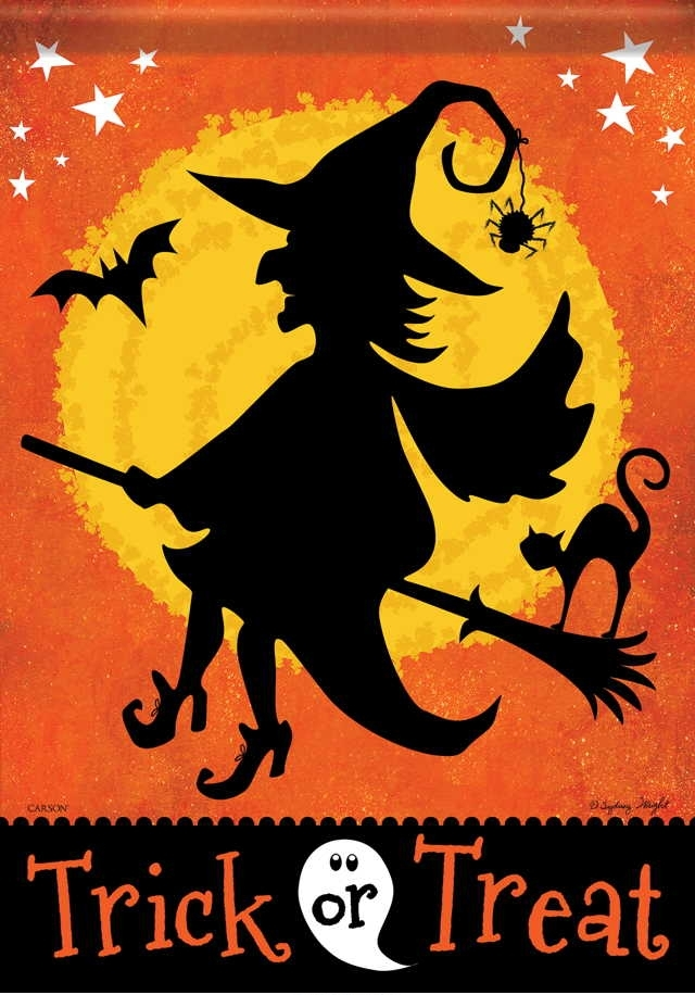 Witchy Night House Flag