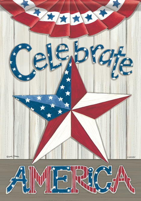 Celebrate America House Flag