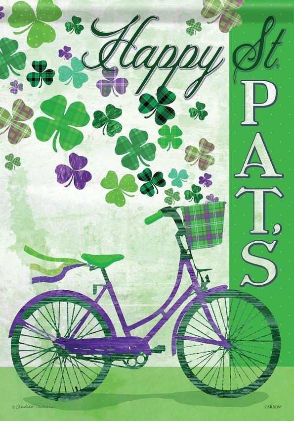 St. Pat's Bike House Flag
