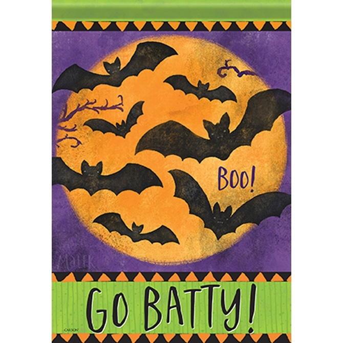 Go Batty House Flag