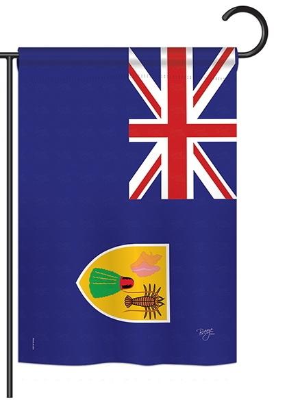 Turks and Caicos Islands Garden Flag