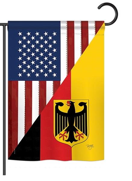 US German Friendship Garden Flag