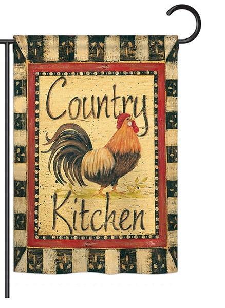 Country Kitchen Garden Flag