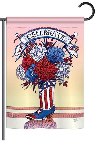 American Boots Garden Flag