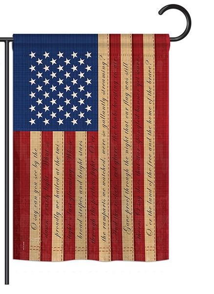Star Spangled Banner Garden Flag