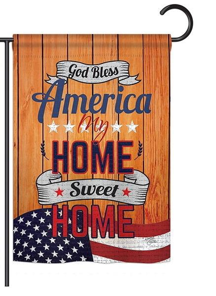 America My Home Garden Flag
