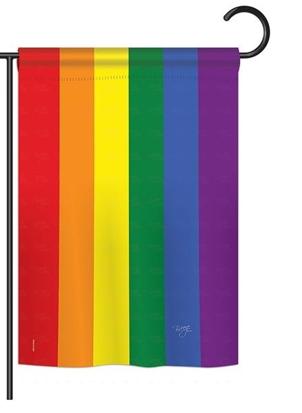 Equality Rainbow Garden Flag