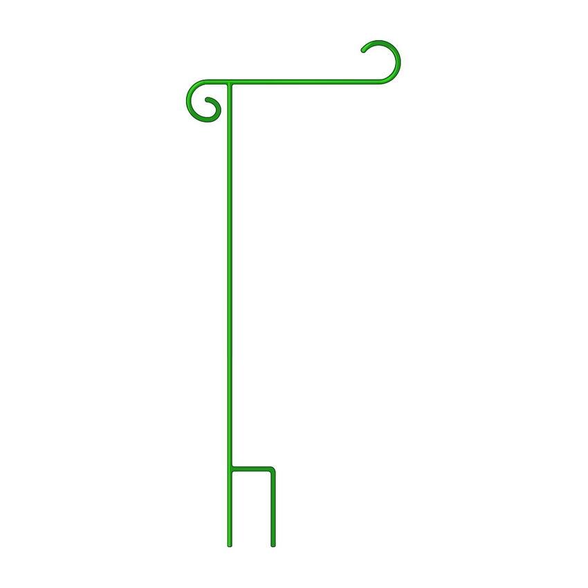 """Deluxe Green Garden Flag Holder 17""""x44"""""""