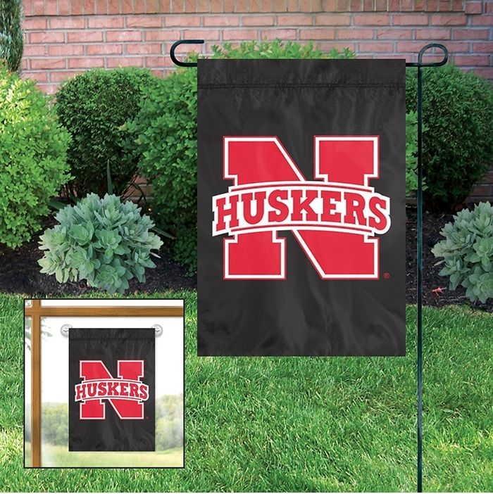 "Nebraska Cornhuskers Garden Window Flag 15"" x 10.5"""