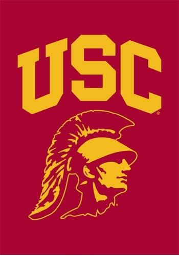 "USC Trojans ""Trojan Head"" Garden Window Flag 15"" x 10.5"""