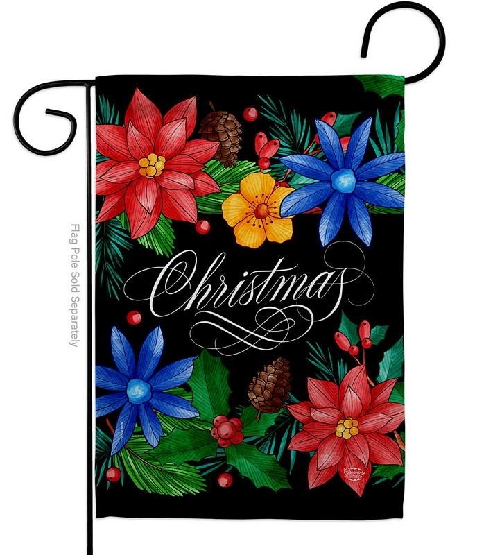 Christmas Bouquet Garden Flag