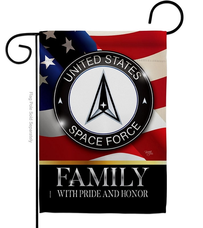 US Space Force Family Honor Garden Flag
