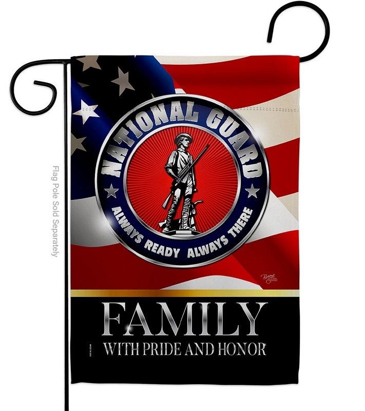 US National Guard Family Honor Garden Flag