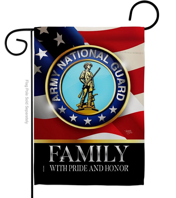 US Army National Guard Family Honor Garden Flag