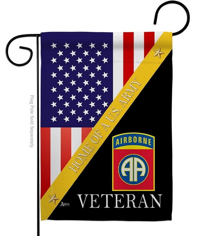 Home Of 82nd Airborne Garden Flag