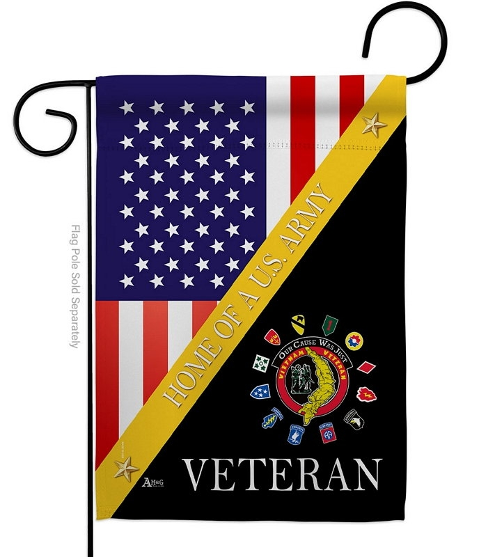 Home Of Vietnam Veterans Garden Flag